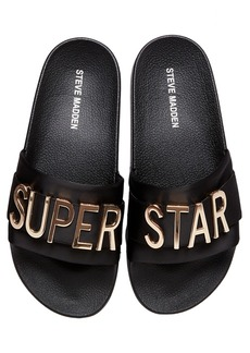 Steve Madden Women's Word Pool Slides