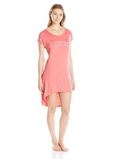 """Steve Madden Women's """"You Don't Need Dream High-Low Sleep Shirt"""