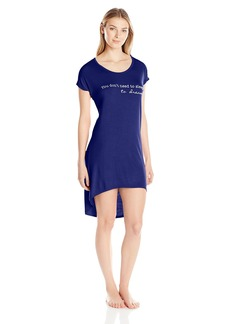 "Steve Madden Women's ""You Don't Need to Sleep to Dream"" High-Low Sleep Shirt"