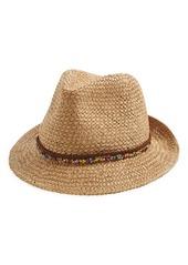 Steve Madden Woven Panama Hat