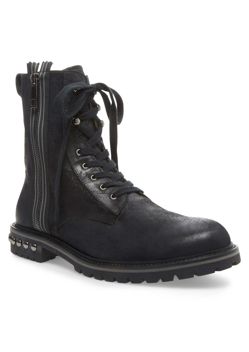 Steve Madden Zuko Plain Toe Boot (Men)