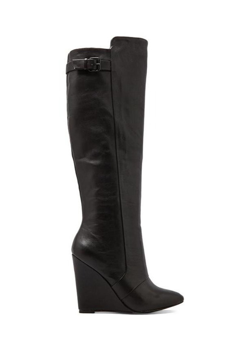 Steve Madden Zylonn Wedge Boot in Black