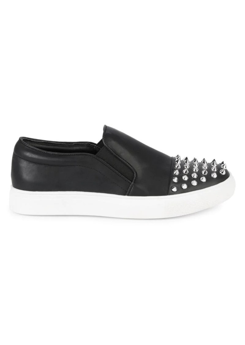 Steve Madden Valda Studded Slip-On Sneakers