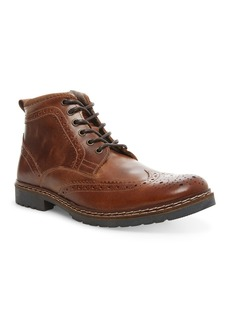 Steve Madden Wally Lace-Up Wingtip Boot