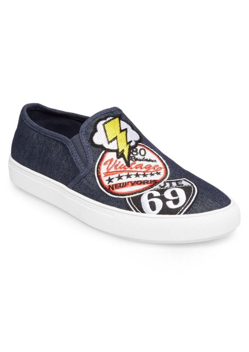 Steve Madden Wasdin Slip-On Patch Sneaker