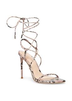 Winnie Harlow x Steve Madden Badgirl Ankle Wrap Stiletto Sandal (Women)