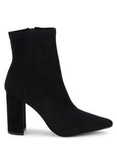 Steve Madden Winta Faux Suede Sock Booties