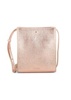 Steven Alan Camden Metallic Leather Crossbody Bag