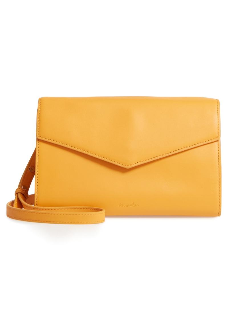 Steven Alan Easton Leather Envelope Crossbody Bag