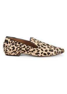 Steven by Steve Madden Havi Leopard-Print Calf Hair & Leather Loafers