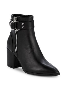 Steven by Steve Madden Jeter Leather Ankle Boots