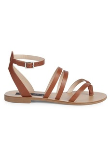 Steven by Steve Madden Madilyn Strappy Leather Slingback Sandals