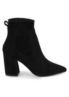 Steven by Steve Madden Newell Point-Toe Sock Booties