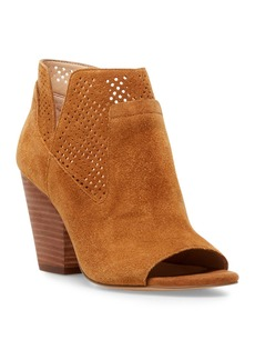 Steven by Steve Madden Ready Perforated Stack Heel Bootie
