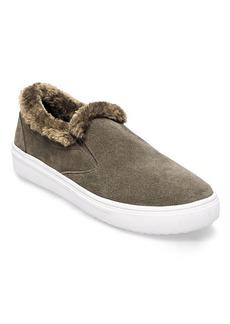 Steven by Steve Madden Cuddles Faux Fur Suede Sneakers