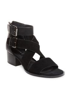 Steven by Steve Madden Elinda Leather Block Heel Sandals