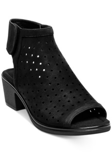 Steven by Steve Madden Phoebiey Perforated Peep-Toe Sandals Women's Shoes