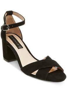 Steven by Steve Madden Voomme Ankle-Strap Block Heel Dress Sandals Women's Shoes
