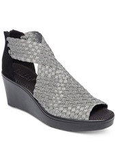 Steven by Steve Madden Women's Ace Woven Wedge Sandals