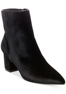 Steven By Steve Madden Women's Bollie Velvet Ankle Booties Women's Shoes