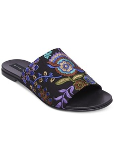 Steven by Steve Madden Women's Cushion Embroidered Sandals