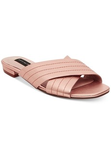 Steven By Steve Madden Women's Farley Crisscross Slide-On Sandals