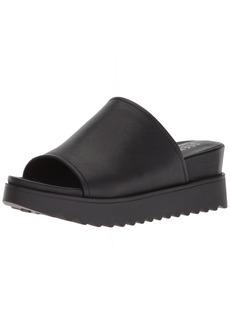 STEVEN by Steve Madden Women's NC-KORE Sandal black leather  M US
