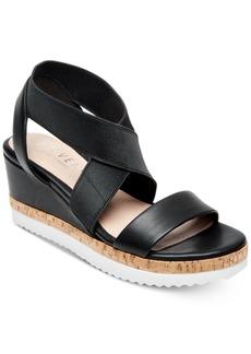 Steven by Steve Madden Women's Saria Crisscross Wedge Sandals