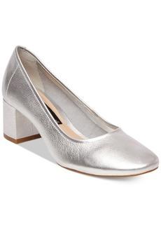 Steven By Steve Madden Women's Tour Block-Heel Pumps Women's Shoes