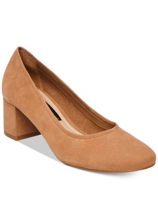 Steven By Steve Madden Women's Tour Block-Heel Pumps Women's Shoes