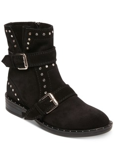 Steven by Steve Madden Women's Zepher Studded Engineer Booties