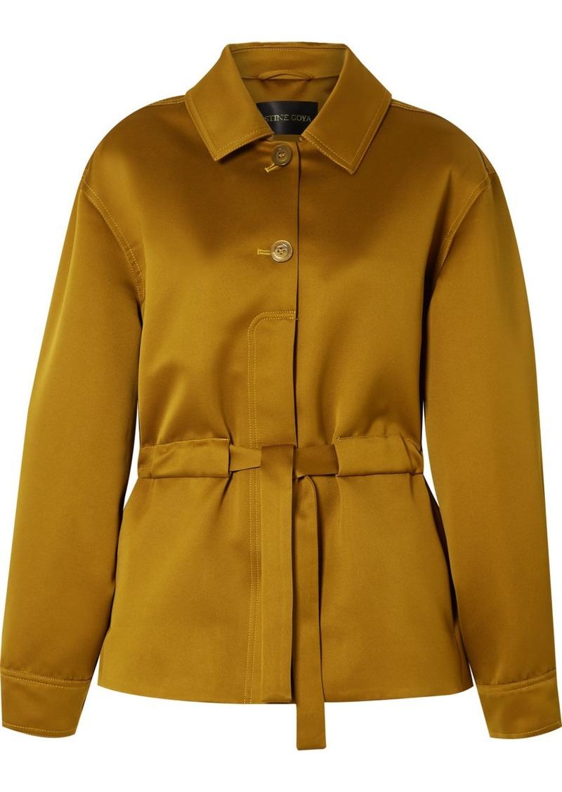 Stine Goya Aditi Belted Twill Jacket