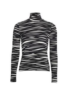 Stine Goya Anne Zebra Stripe Turtleneck