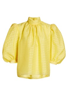 Stine Goya Brigitte Puff-Sleeve Blouse