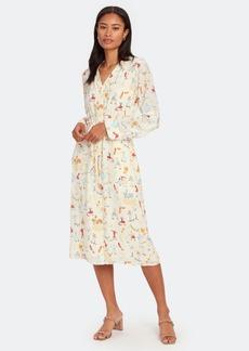 Stine Goya Camilla Long Sleeve Midi Shirt Dress - XS - Also in: S, L, M