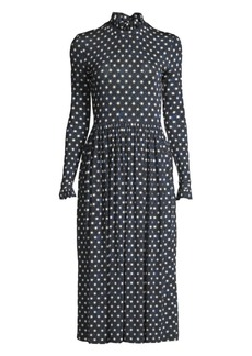 Stine Goya Clarabelle Star-Print Midi Dress