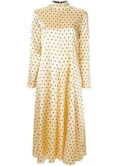 Stine Goya dotted midi dress