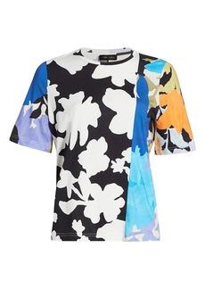 Stine Goya Dream Extreme Leonie Multicolor Patchwork Floral T-Shirt