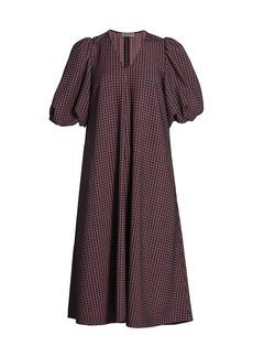 Stine Goya Mavelin Check Shift Dress