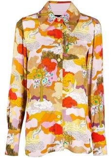 Stine Goya Dreamscape shirt