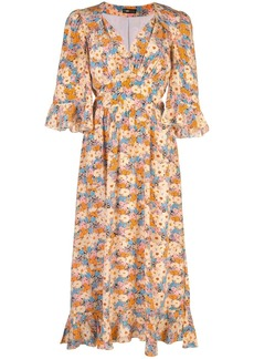 Stine Goya Evelyn Flowers silk dress