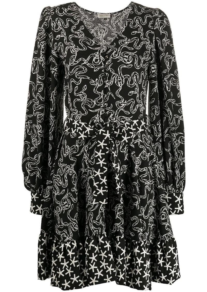 Stine Goya Farrow snake print dress
