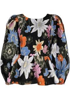Stine Goya Gara botanical print blouse