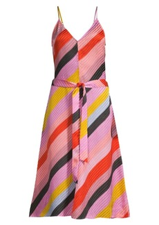 Stine Goya Gianna Striped Silk Dress
