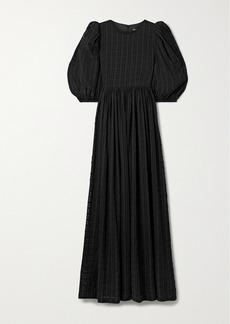 Stine Goya Isa Seersucker Maxi Dress