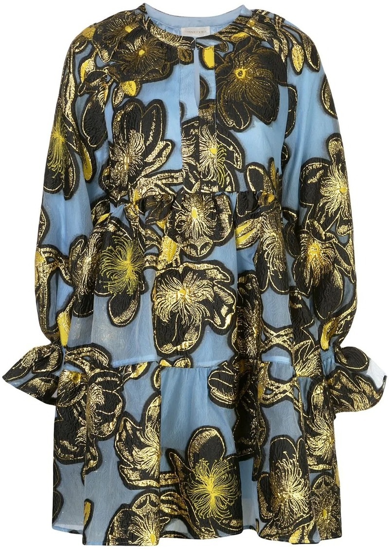 Stine Goya Ivana weaved print dress