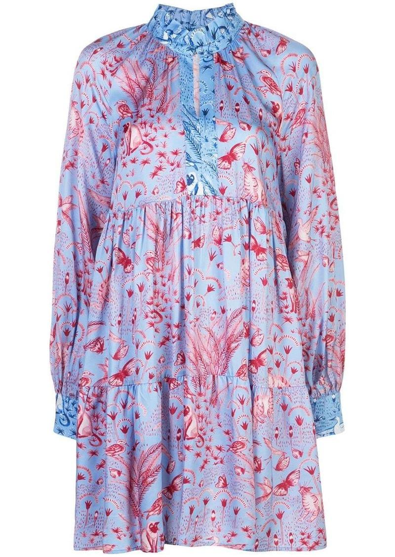 Stine Goya Jasmine jungle-print dress