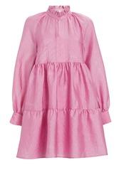 Stine Goya Jasmine Tiered Mini Dress