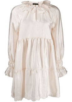 Stine Goya lace trimmed shift dress
