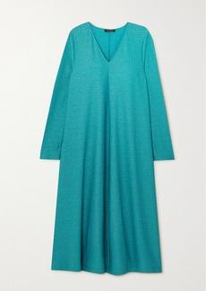 Stine Goya Lauren Glittered Jersey Midi Dress